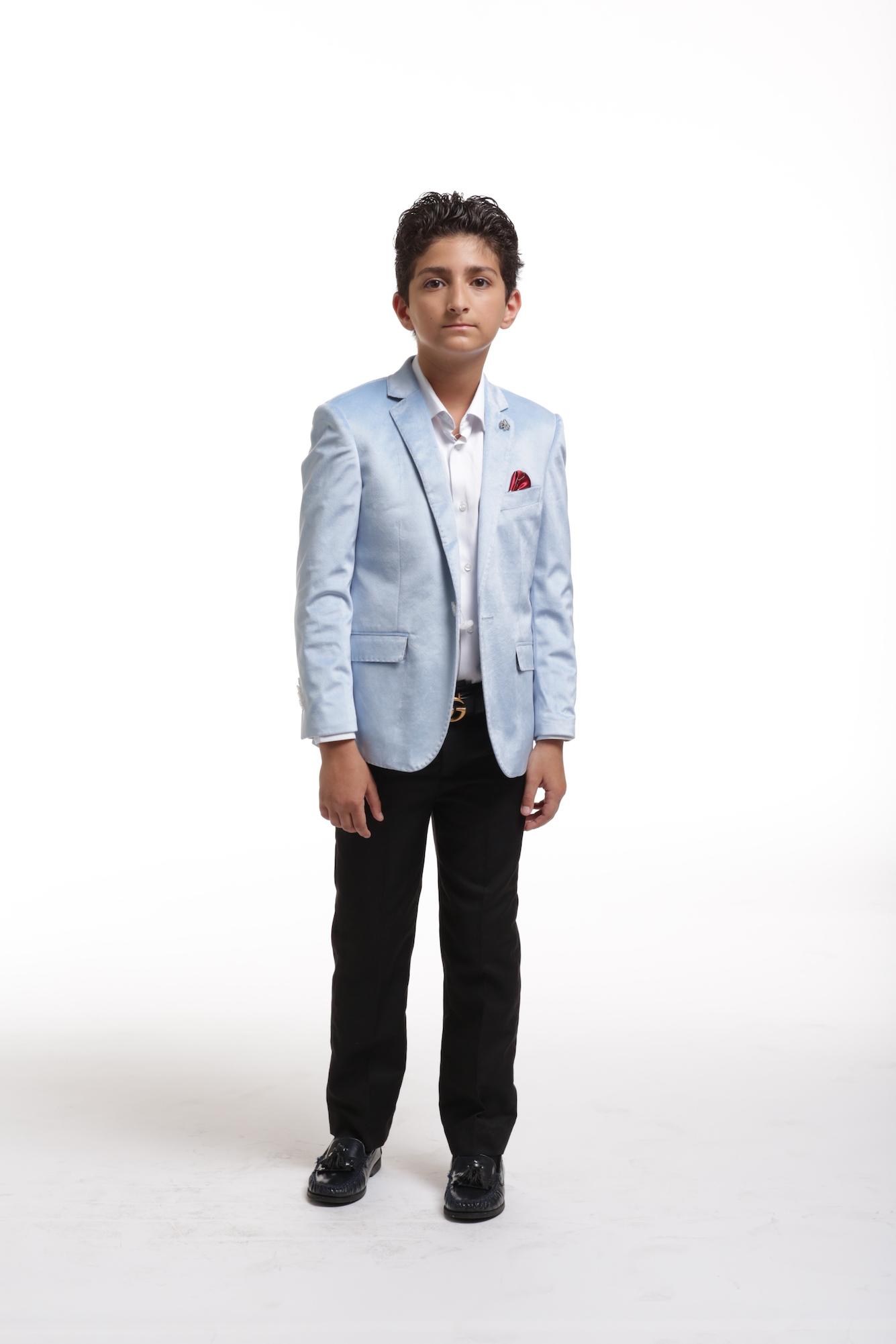 Elie Balleh Velvet Boys Blazers Sports Coat Jacket
