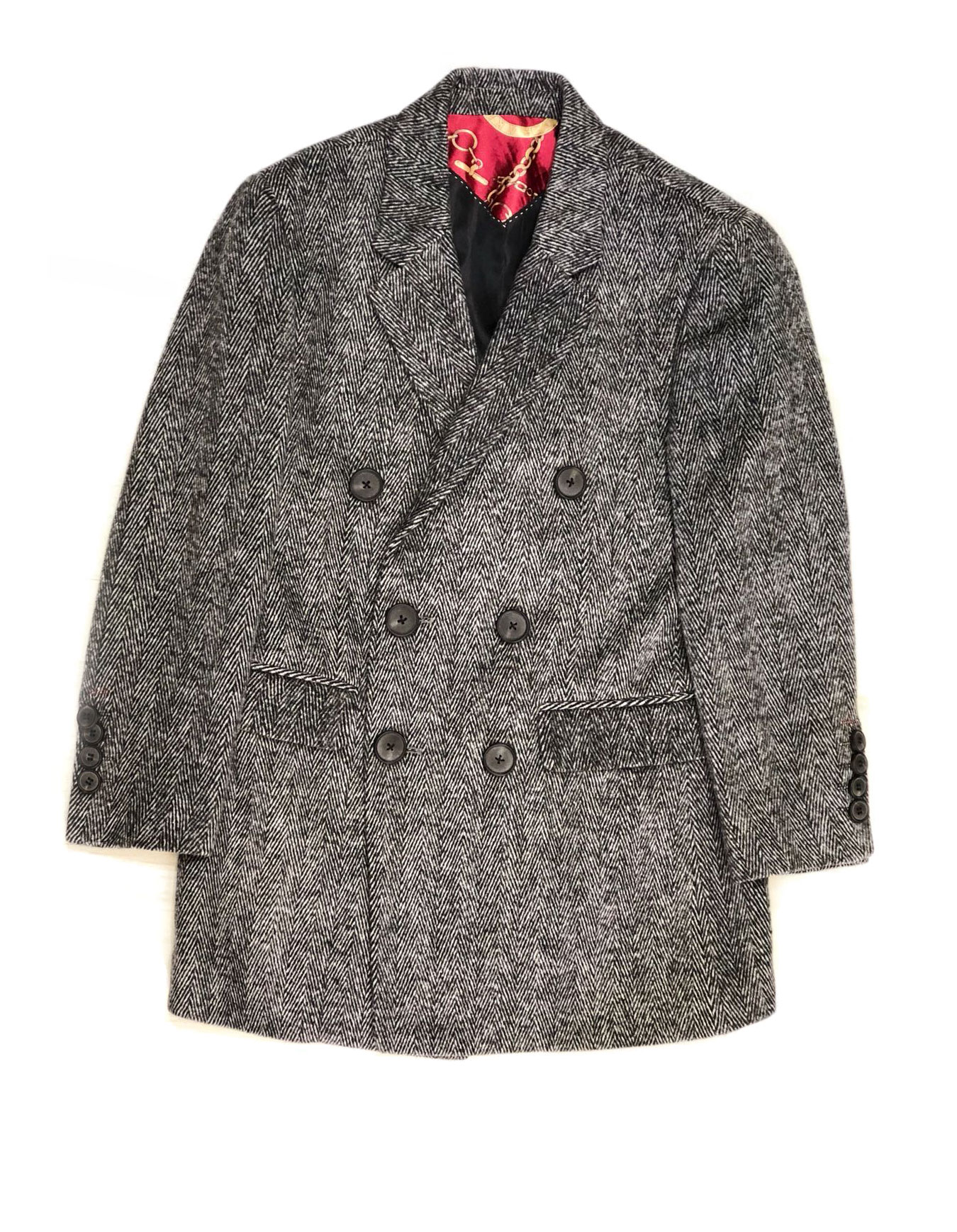 Elie Balleh Big Harringbone Boys/Coats