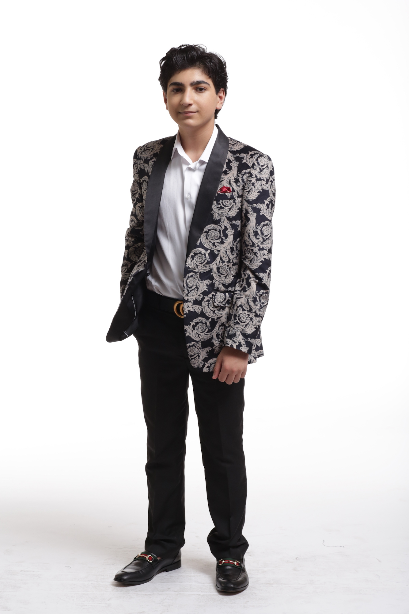 Royal Floral Boy's Blazer/Jacket CEBBW1716B