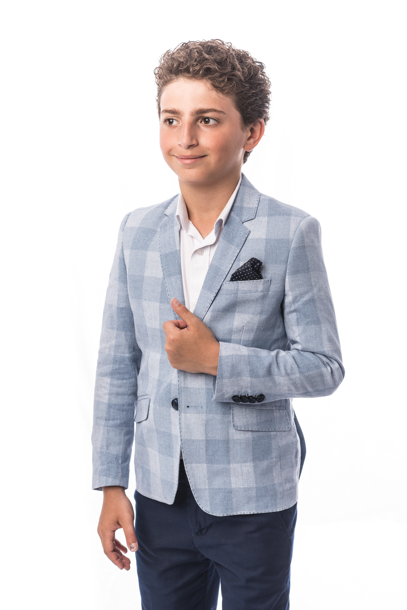 Big Checkerboard Boys Blazers / Sports Coat Jacket EBBS1708B