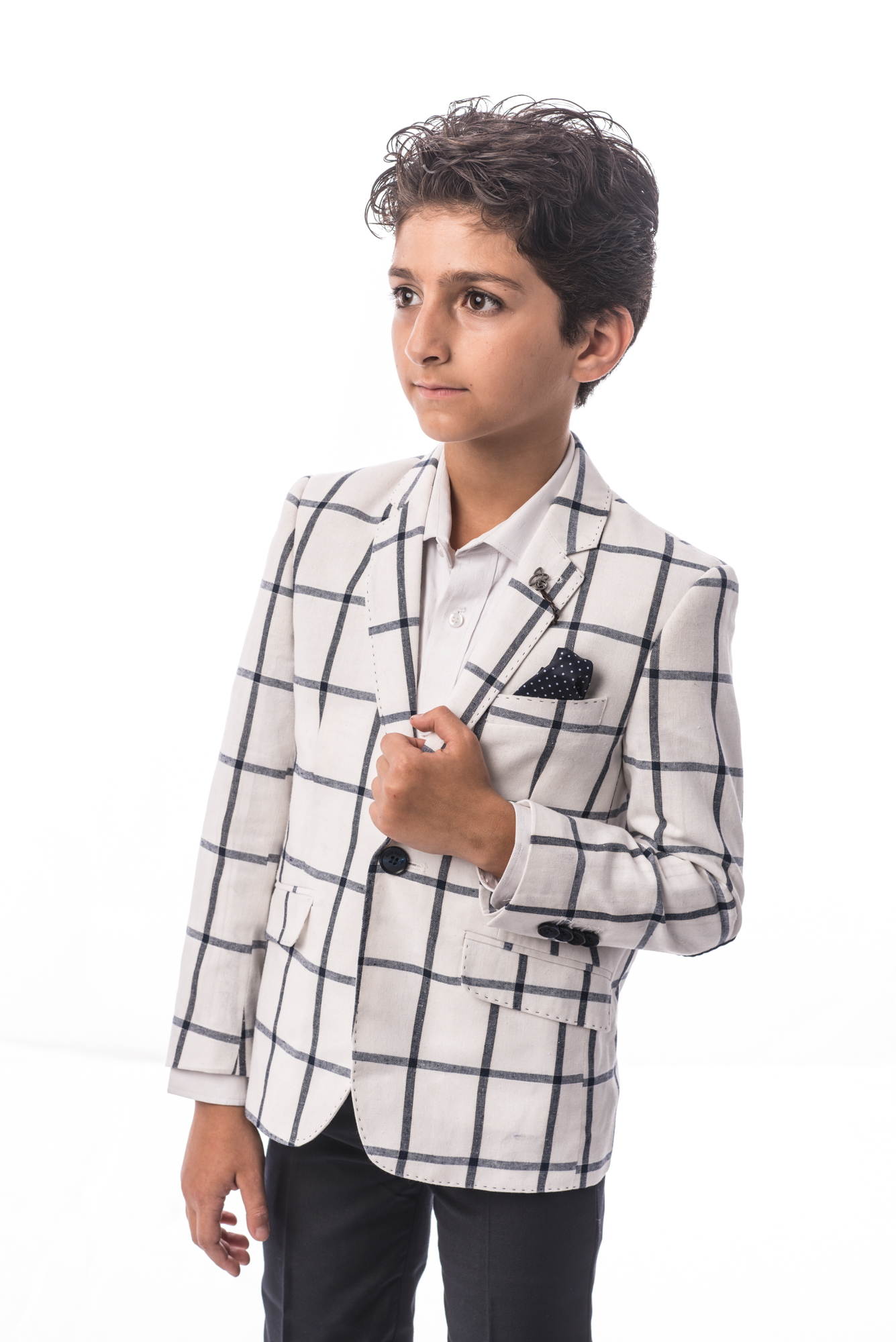 Big Checkerboard Boys Blazers / Sports Coat Jacket EBBS1710B