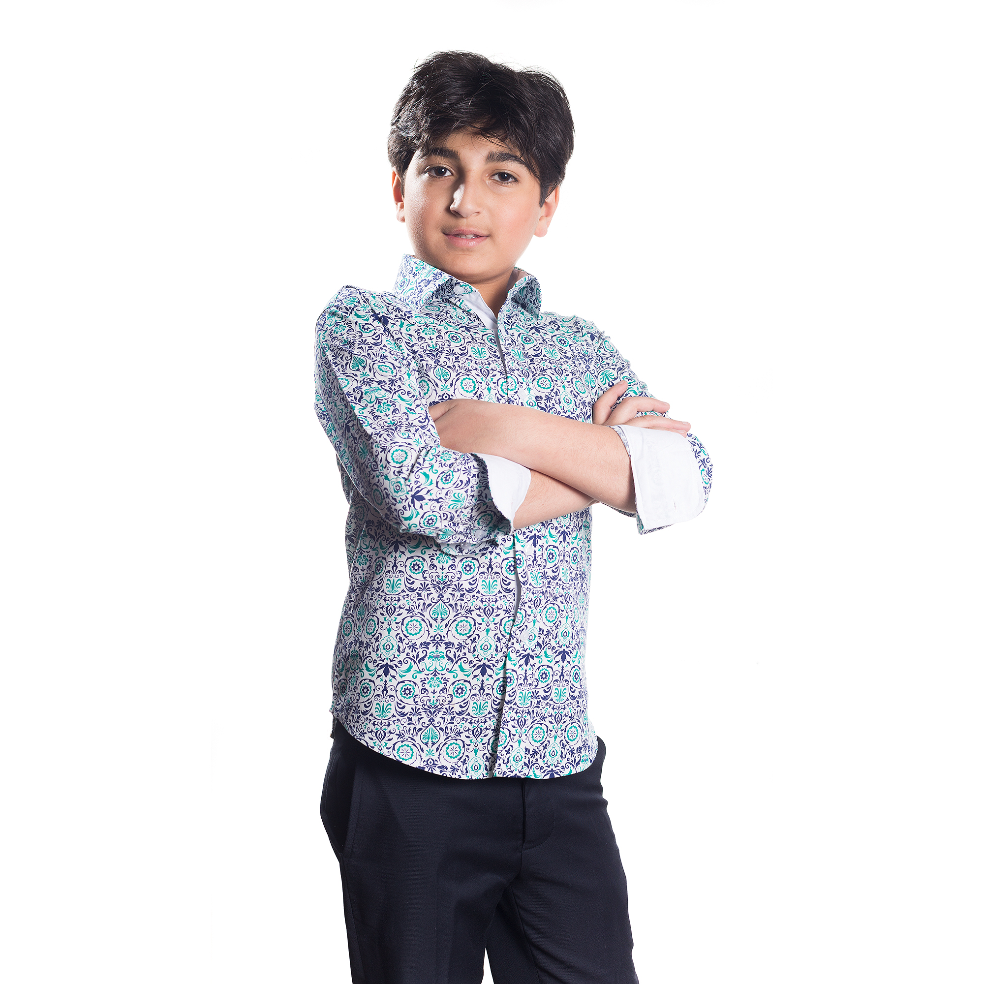 Printed Boys Shirts / Button Down EBSH156B