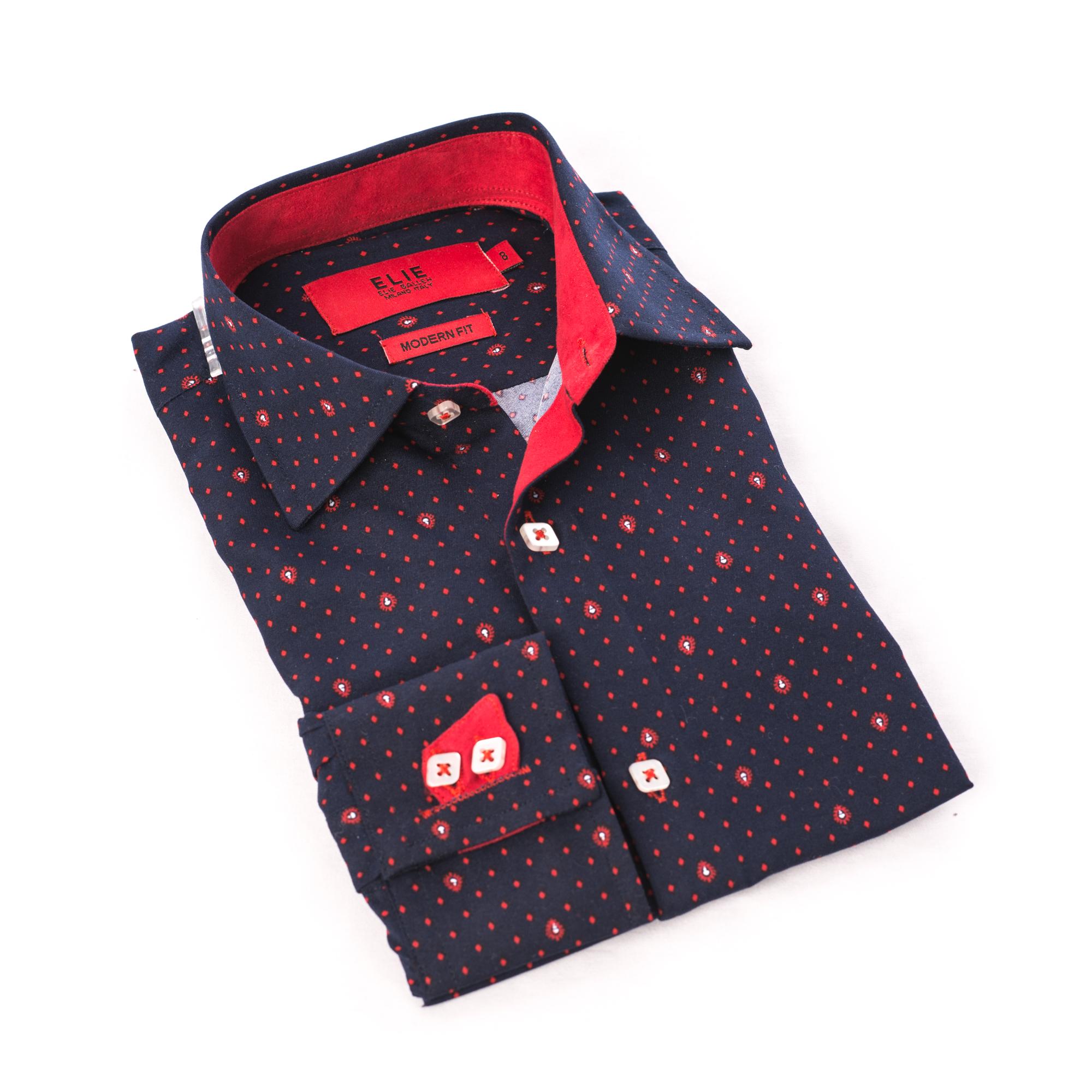 Boy Shirt Design   Diamond Design Boys Shirts Button Down Ebsh248b