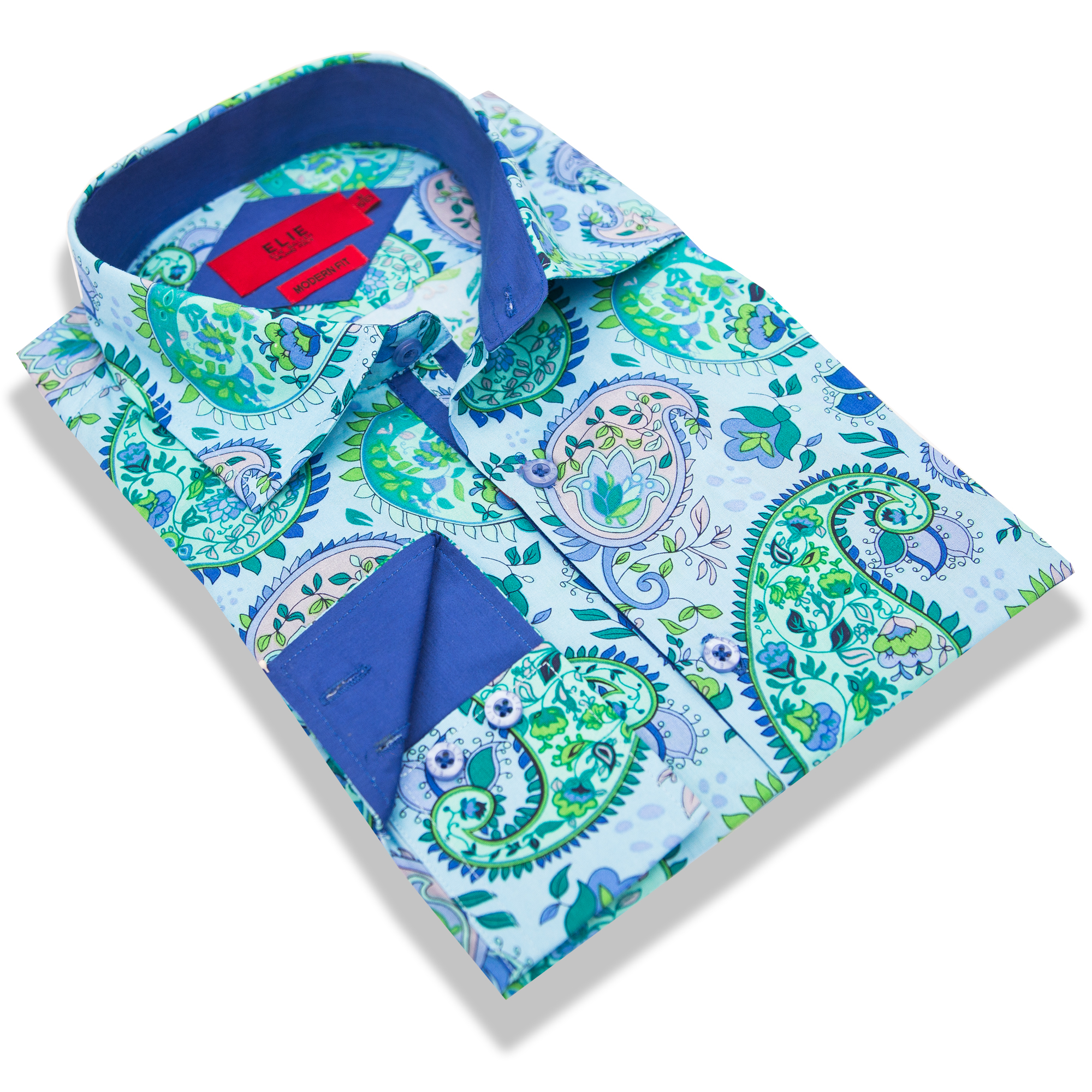 Elie Balleh Big Paisley Boys/Shirts