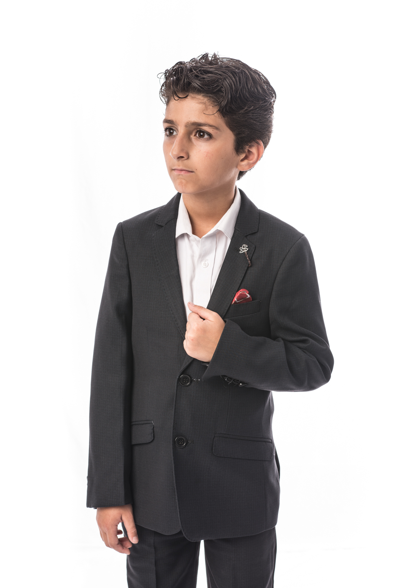 Patterned Boys Suits EBSW1694B