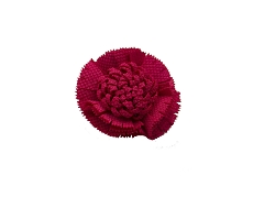 Elie Balleh Solid Carnation Flower Lapel Pin Boutonniere