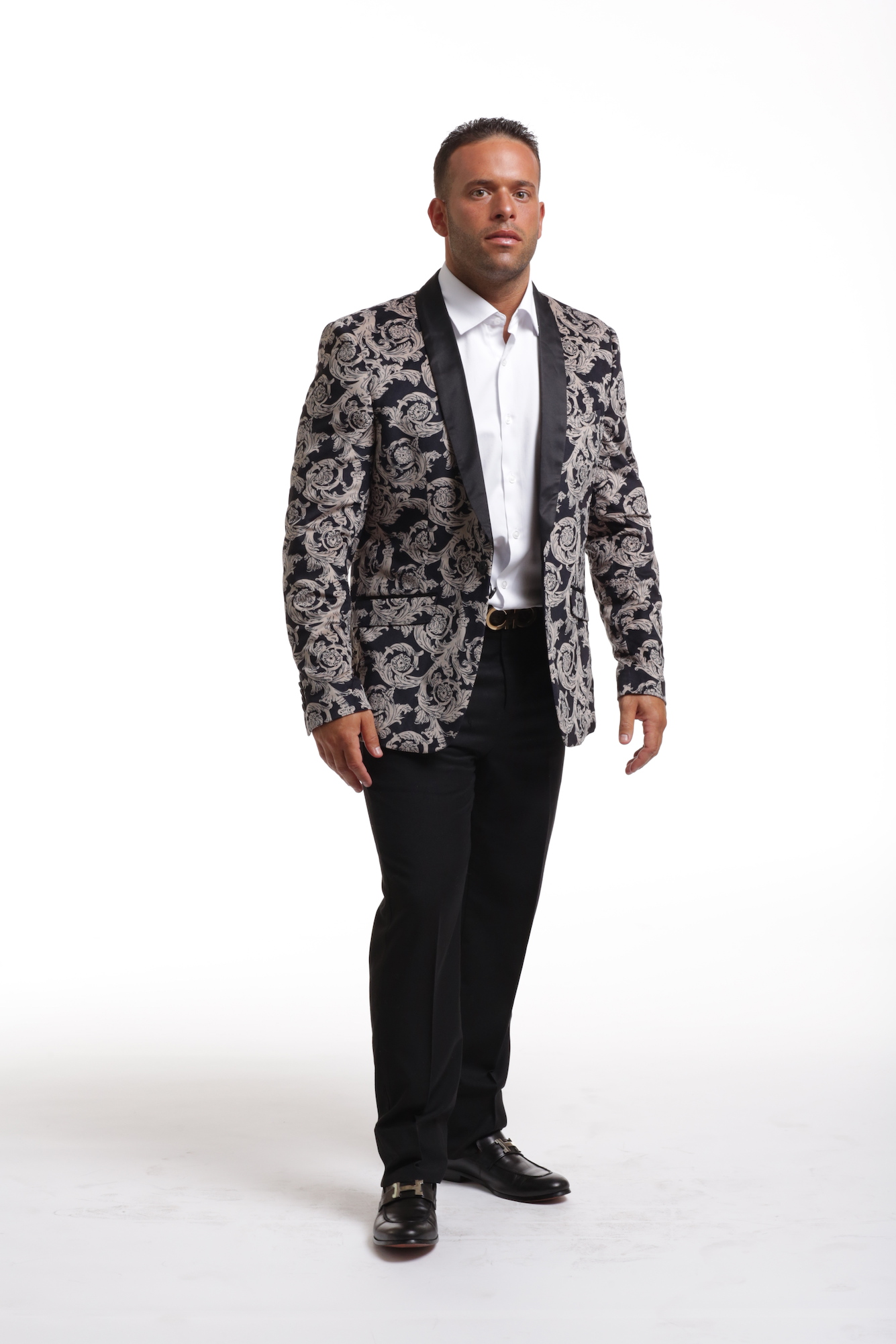 Royal Floral Men's Blazer/Jacket CEBBW1716M