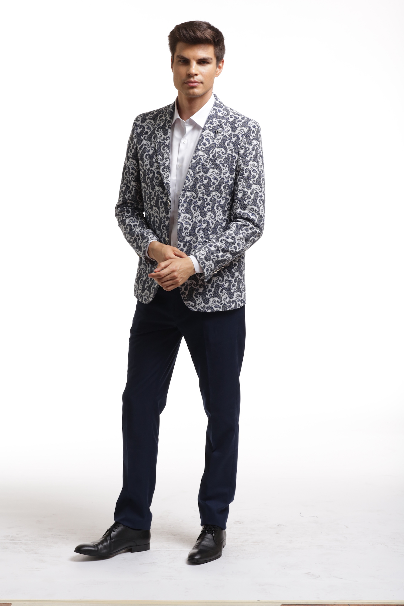 Elie Balleh Brocade Paisley Men's Blazers - Sports Coat Jacket