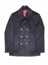 Elie Balleh Pea Coat Men/Coats