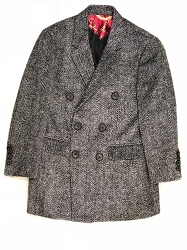 Elie Balleh Big Harringbone Men/Coats