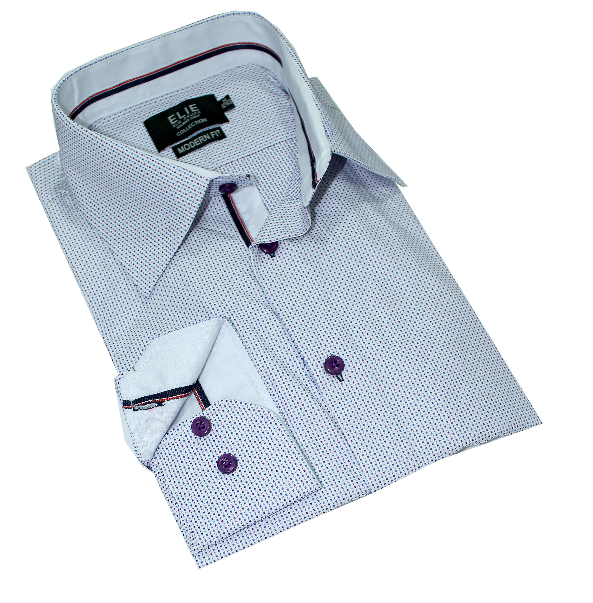 Doted premium Men Shirts / Button Down CEBSH302M