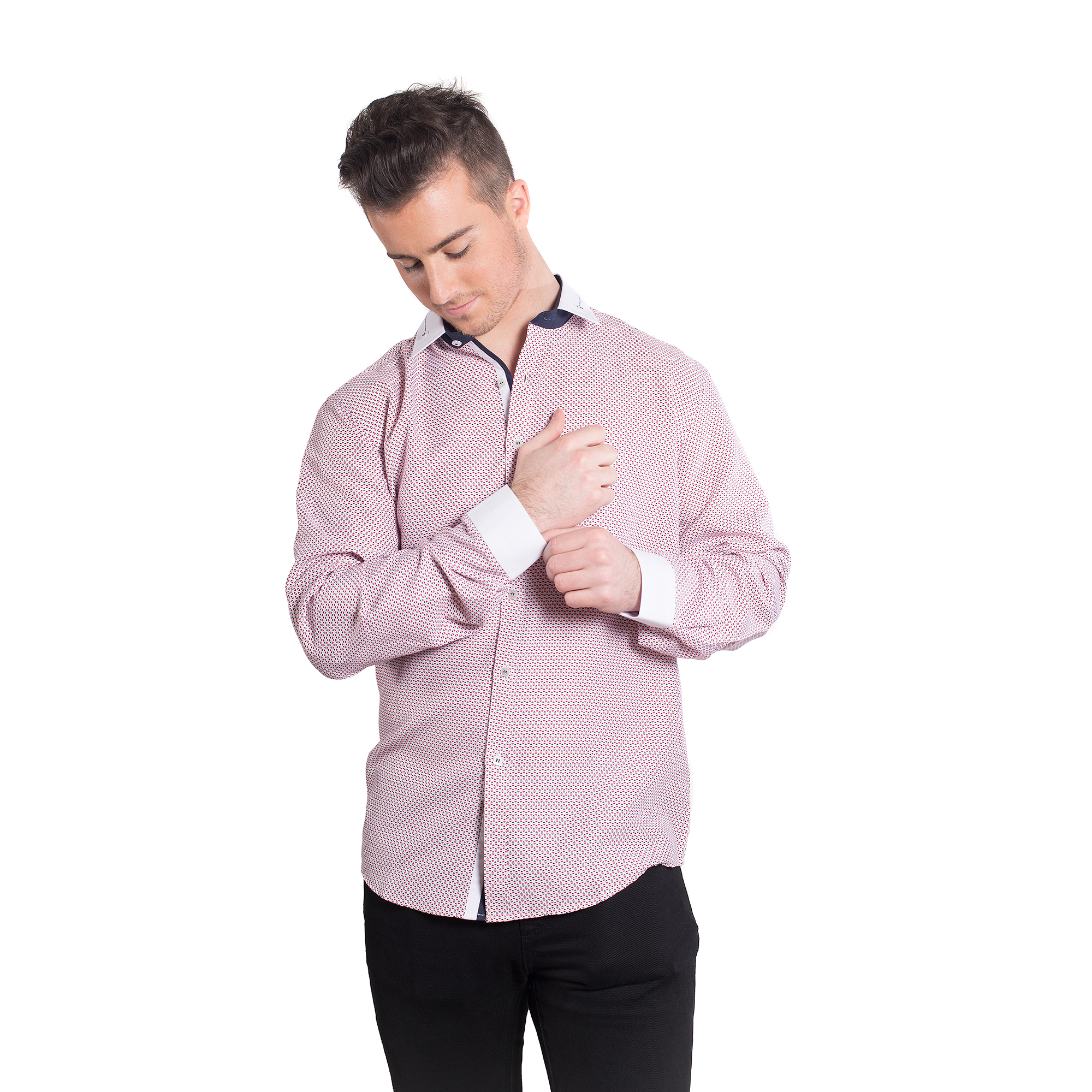Elie Balleh Hearts Men Shirts / Button Down