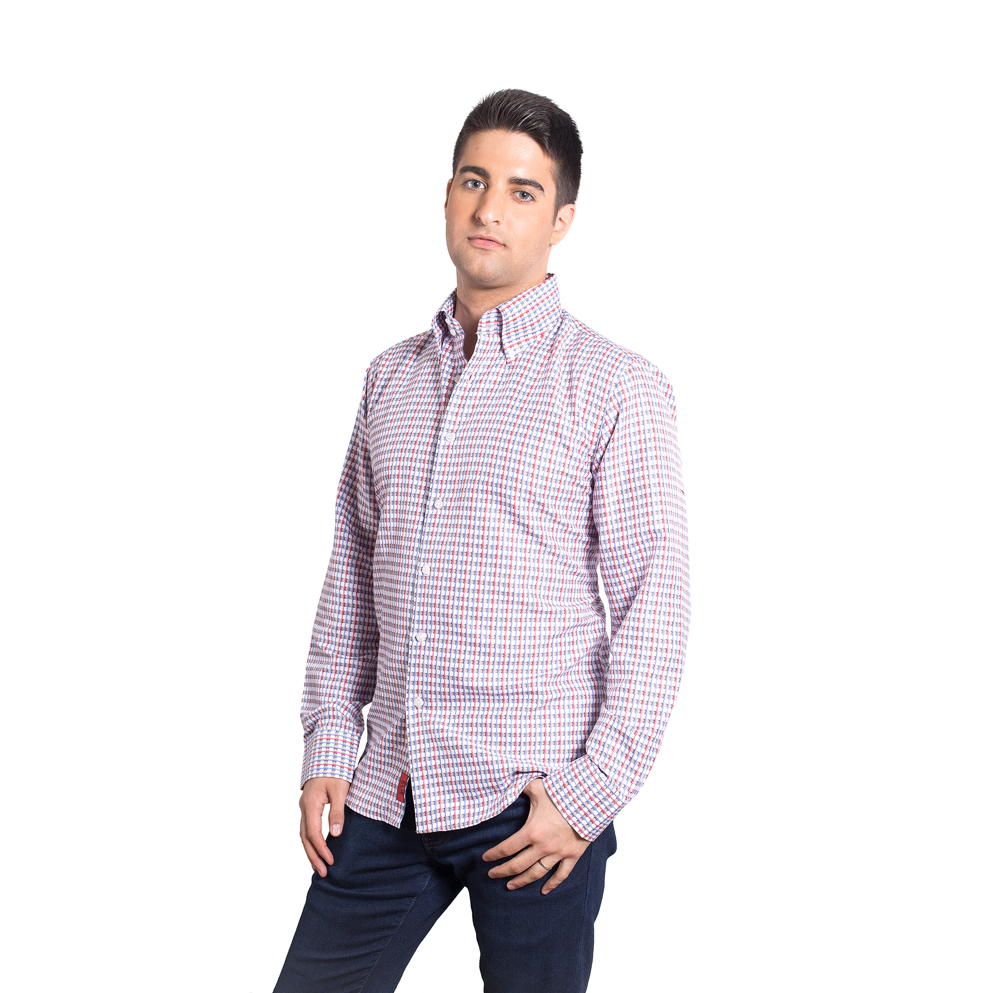 Elie Balleh 3D Print Design Men Shirts / Button Down