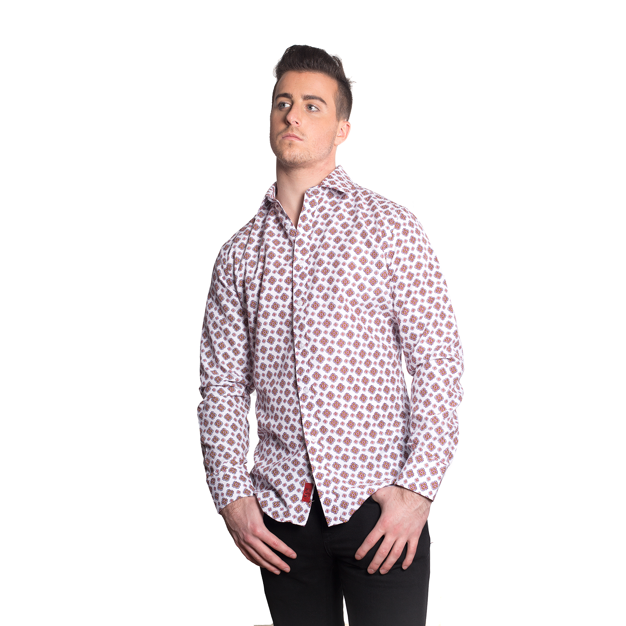 Elie Balleh Printed Men Shirts / Button Down