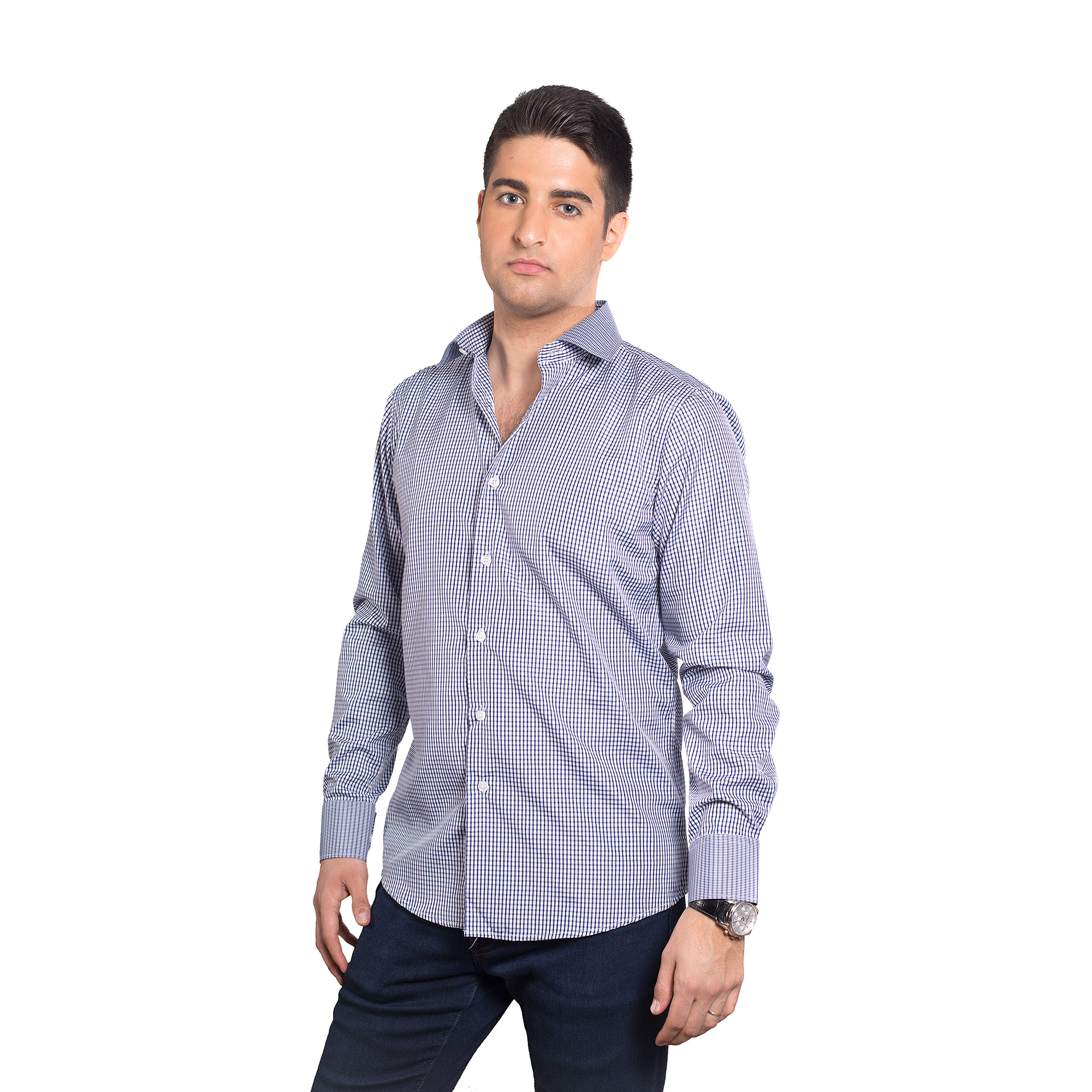 Elie Balleh Trendy Print Men Shirts / Button Down