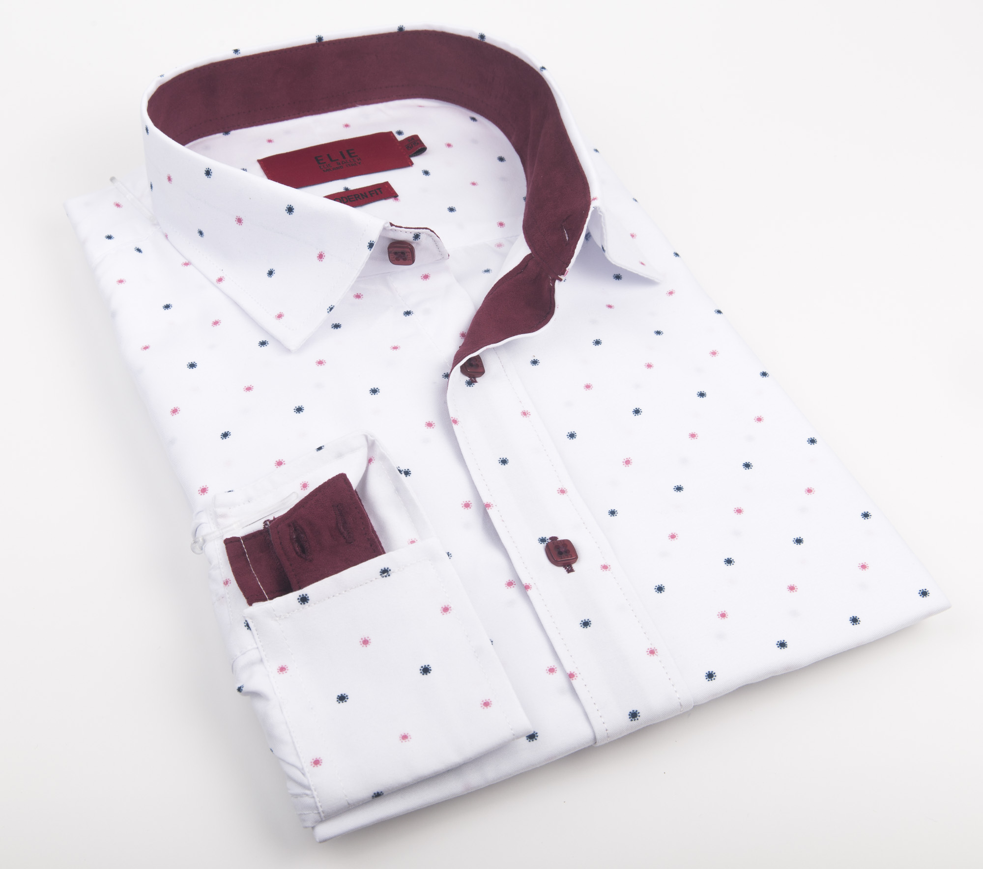 Elie Balleh Dots Men Shirts / Button Down