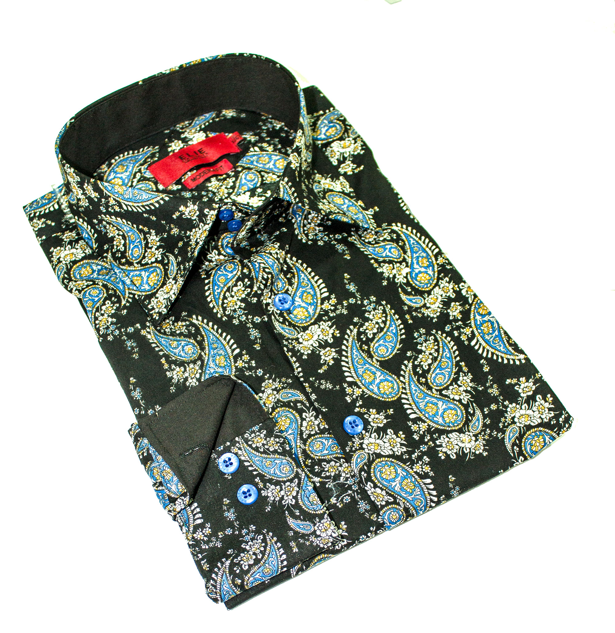 Elie Balleh Paisley Men Shirts / Button Down