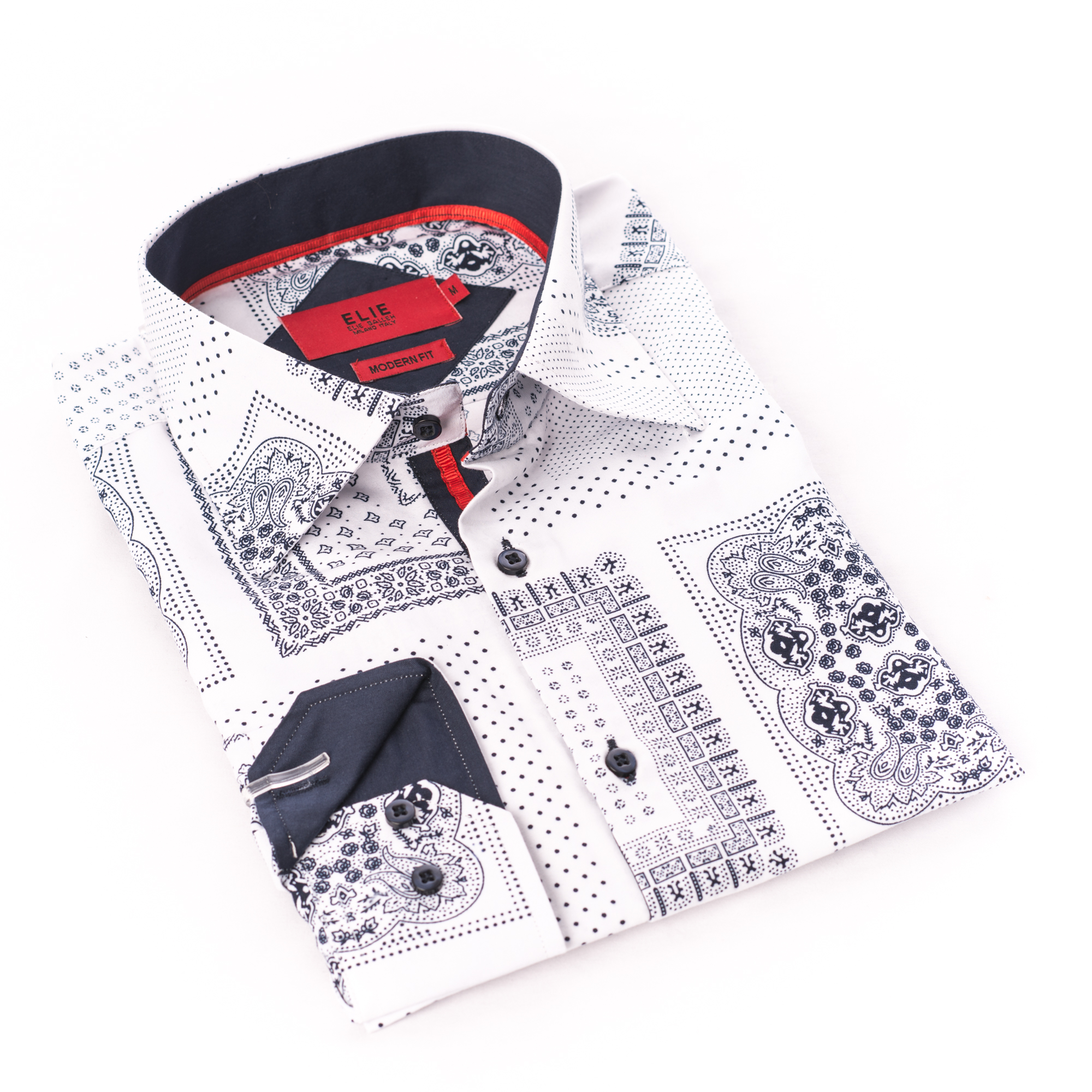 Bandana Print Men Shirts / Button Down EBSH236M