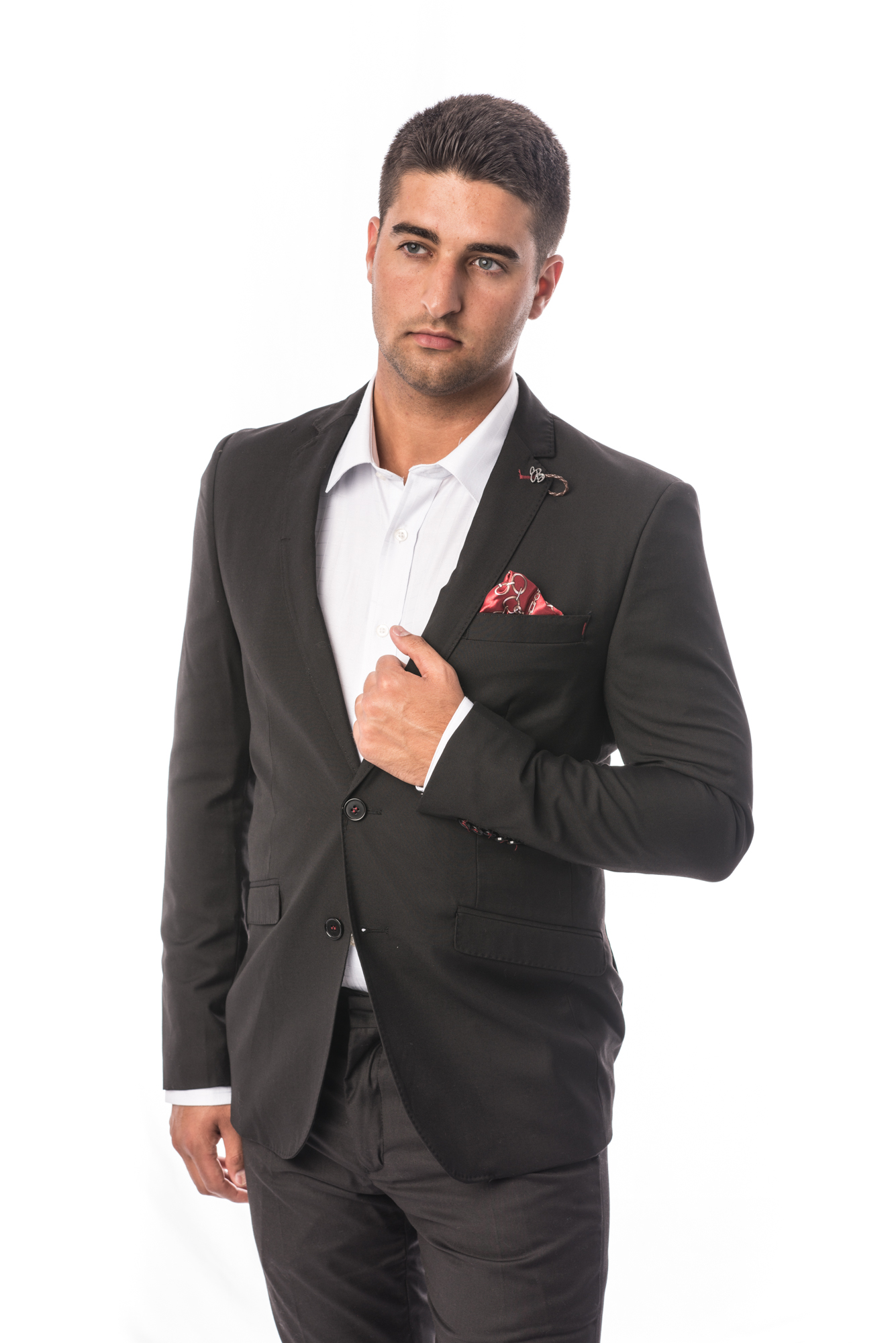 Solid Men Suits EBSW1697M