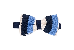 Elie Balleh Knit Wide Strips Men's Bowties