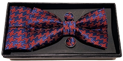 Elie Balleh Fashion Houndstooth 3Pc Bowties Set