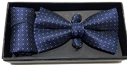Elie Balleh Fine Diamond Designed 3Pc Bowties Set