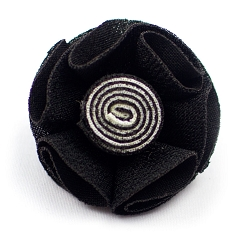 Elie Balleh Two Toned Flower Lapel Pin Boutonniere