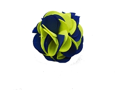 Elie Balleh Silk Two Toned Flower Lapel Pin Boutonniere