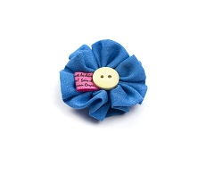 Elie Balleh Button Flower Lapel Pin Boutonniere