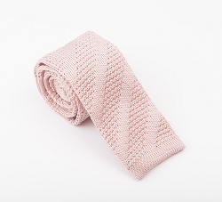 Elie Balleh Knit Solid Black Boys Tie