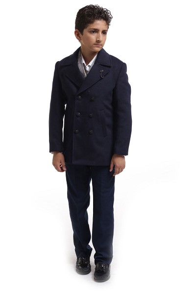 Elie Balleh Pea Coat Boys/Coats