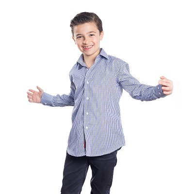 Elie Balleh Trendy Print Boys Shirts / Button Down