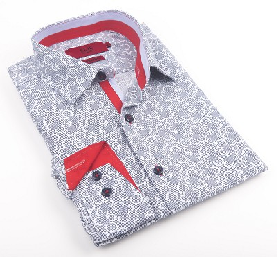 Elie Balleh Milano Italy Boy's Dress / Casual Shirts EBSH174B