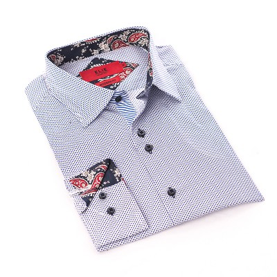 Elie Balleh Doted Boys Shirts / Button Down