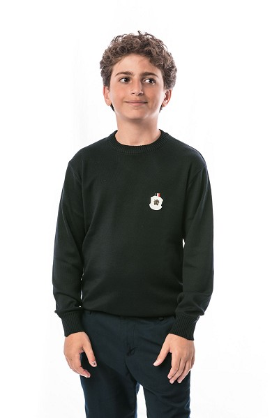 Elie Balleh Solid Boys Sweater