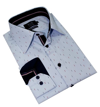 Elie Balleh Digital Rain Premium Men Shirts / Button Down