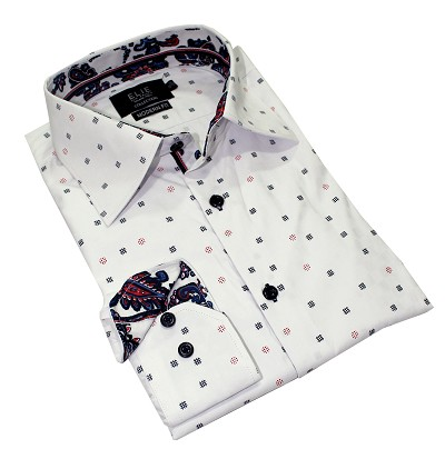 Elie Balleh Hashtag Design Premium Men Shirts / Button Down