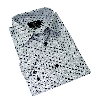 Elie Balleh Wild Cubes Premium Men Shirts / Button Down