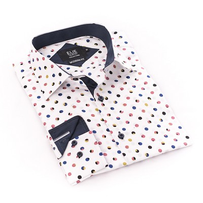 Pac Man Dots premium Men Shirts / Button Down CEBSH314M