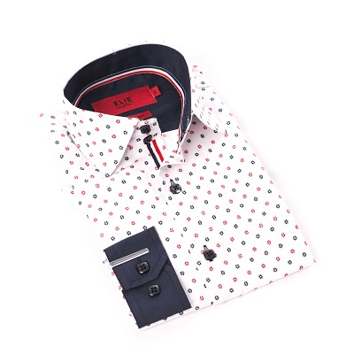 Print Design Men Shirts / Button Down EBSH235M