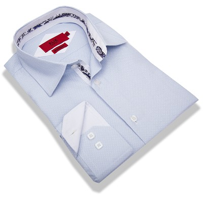 Elie Balleh Solid Pindots Men/Shirts