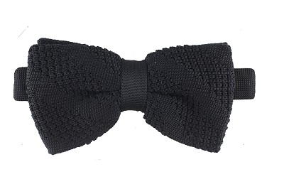 Elie Balleh Solid Knit Men's Bowties
