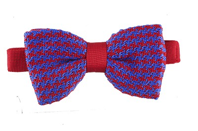 Elie Balleh Knit Hounds Tooth & Strips Men's Bowties