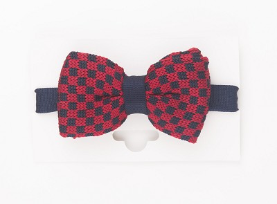 Elie Balleh Knit Checkerboard Boy's Bowties